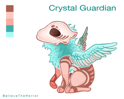[CLOSED] Adopt Auction : Crystal Guardian by BelieveTheHorror