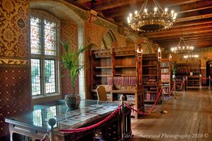 Cardiff Castle Library by Rovanite