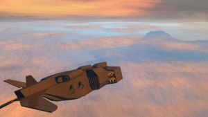 Dropship Sunset by MarCusFX