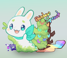 Spring Pacadvent 2k18 - Rainbow Sprout [CLOSED] by Nokkelborth