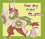 All Eyes On You [Peeper Adopt] [CLOSED] by Ne-wt