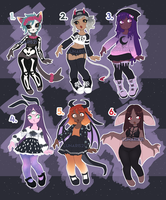 Pastel Goth Adopt Auction! [CLOSED!] by Lunaris21
