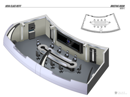 Nova Class Refit - Briefing Room by falke2009