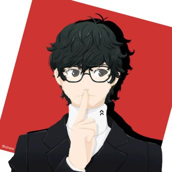 Show me your true form! - Persona 5 by CupcakeAmande