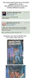 AWESOME Book Covers: Chrome by RomanJones
