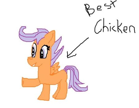 Best Chicken (hastily Made microsoft paint thingy) by Daring-Dash-Hoof