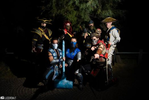 Mortal Kombat Insanity group by Voldreth