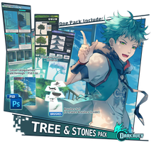 [Xen-Tutor] - Tree and Stones Pack by Darkavey
