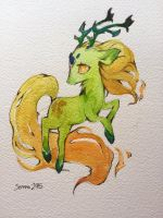 Greenkirin by sererena