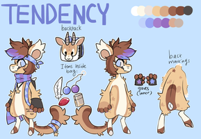 Tendency Reference Sheet by gazhelle