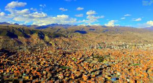 An overview of La Paz, Bolivia by Tomer-DA
