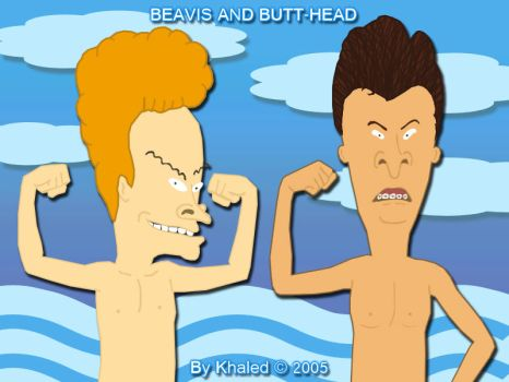 Beavis and Butt-head by Painkiller82