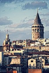 Galata Tower by nurtanrioven