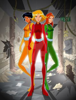 Totally Spies by gyrfalcon65