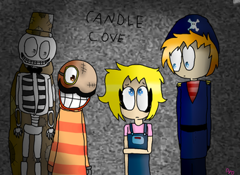 Candle cove (+speedpaint) by dragoncatlovely