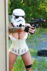 Stormtroopers never hit by Naomi-VonKreeps
