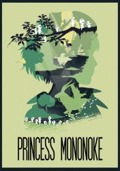 The Many Faces of Cinema: Princess Mononoke by Hyung86