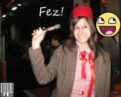 The Female 11th Doctor found a Fez by GreenArcherAlchemist