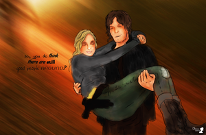 The Walking Dead : Daryl Dixon And Beth Greene by DenisseSelene