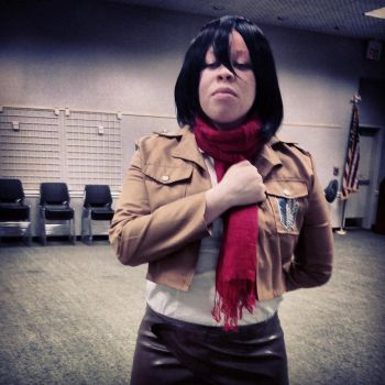 Mikasa Cosplay 1 by blackassassins