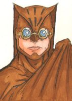 NiteOwl sketchCard by JasonGodwin