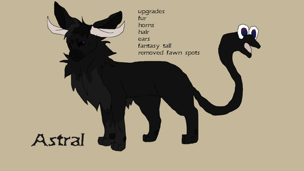 New Astral Ref by TheRealBramblefire