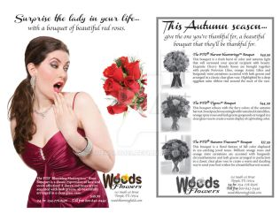 Woods Flowers Magazine/Newspaper Ads by KriticKilled