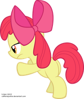 Apple Bloom is Spying on You (Vector) by caffeinejunkie