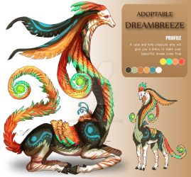 ADOPTABLE Close : DREAMBREEZE [Auction][paypal] by SmileykittyAdopt