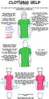 Clothing Help by PaperSquid
