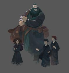 Harry potter by Nesskain