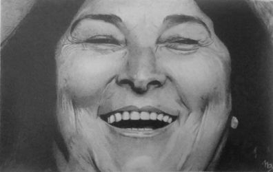 Mercedes Sosa (Graphite Pencils) 2017 by 113MB
