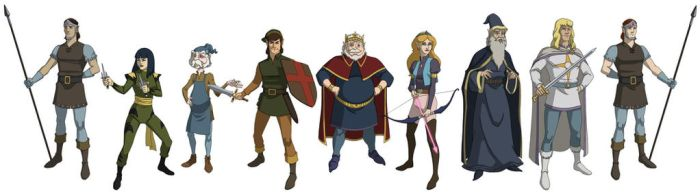 The Legend of Zelda '89 Line-Up by khazen