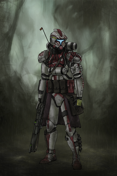 Sergeant Risk (Commission) by The-Chronothaur
