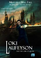 Loki Laufeyson and the cube of doom by deaddarkness