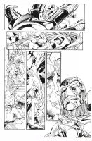 X-men #65 Inks by aethibert