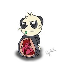 [Commission] pancham by BigClaudia