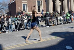 St. Patrick's Day Parade, Baton Boogie by Miss-Tbones