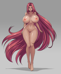 Female General Nude Ver. by Devil-V