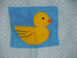 Duck by VickitoriaEmbroidery