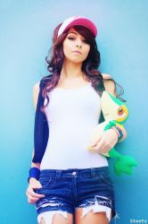 Pokemon White - Hilda / Touko [04] by beethy