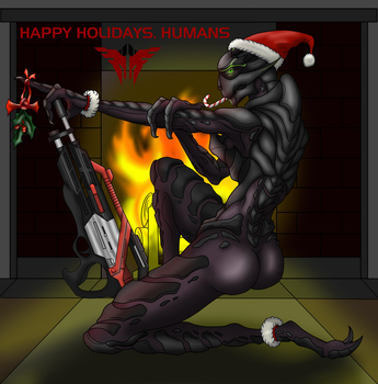 Gift: Humans and their Holidays... by BiscuitReloaded