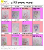 Sonic Forms Meme - Amy Rose by Dark-Anmut