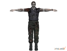 REUC - zombie Edward Dewey by deexie
