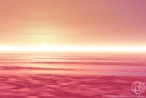 Sunset in the Clouds by Norski