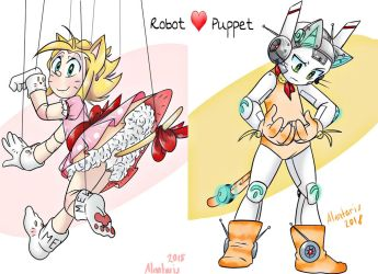 Robot : Puppet Neko Love by Alantaris