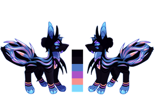 [CLOSED] Crystal Spider Dog Auction by PlXlEDUST