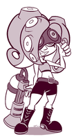 Octoling by Cogmoses