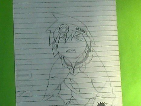 First Drwing Soul Eater by SoyDev08