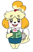 Isabelle by ninja-inu